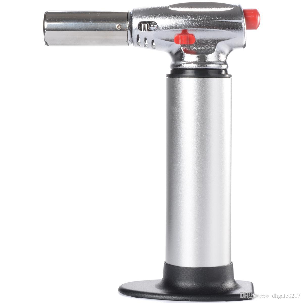 Ordinaire 2019 DHL Free 1300C Butane Scorch Torch Jet Flame Torch Kitchen Torches  Giant Heavy Duty Butane Refillable Micro Culinary Torches From Dhgate0217,  ...