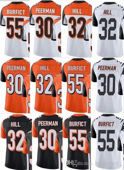 b36e9d17238 Cheap Cincinnati Bengals Custom Men Youth Women #30 Cedric Peerman 32  Jeremy Hill 55 Vontaze Burfict Vapor Untouchable Limited Rush Elite Jerseys