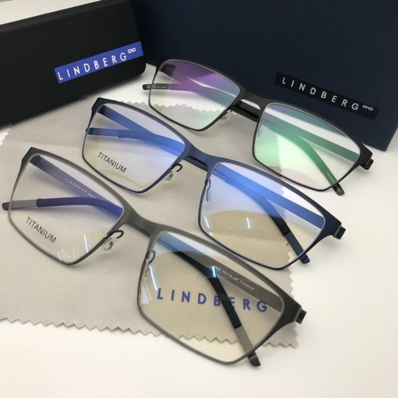 546dc4b24f Luxury-Lindberg 9889 Glasses Frame Vintage Designer Glasses Prescription  There is No Screw Style Design Men Women Brand Eyeglasses Frame Online with  ...