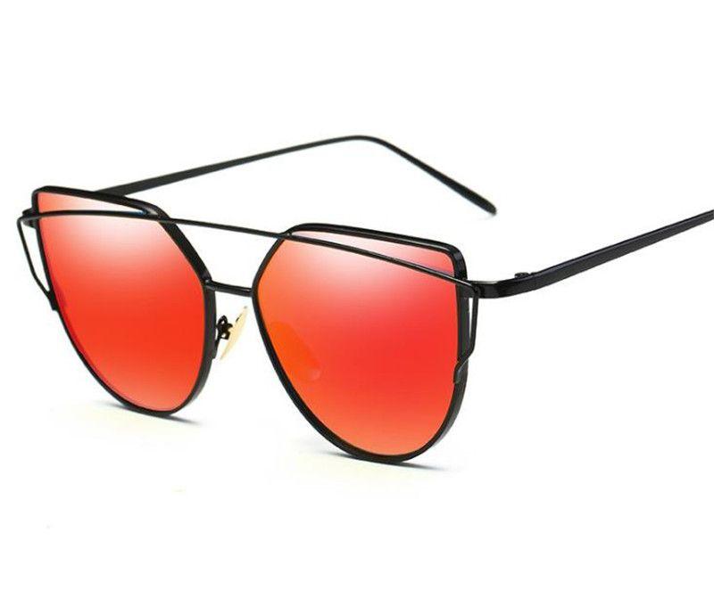 7075e540eec0c Compre Marca De Moda De Luxo Óculos Óculos De Sol Designer De Armação De  Metal Uv400 Lentes Melhor Qualidade Óculos De Sol Frete Grátis De  China supplier2