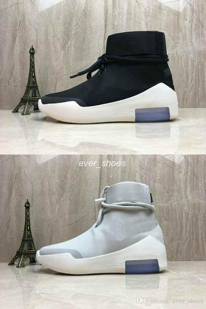 Designer Box Fear God Sneakers Fog 36 Tops Luxury 1 Nike With Black Beige 45 Boots Grey New Air Of Fashion Zoom Casual Shoes High uJTlF1cK35
