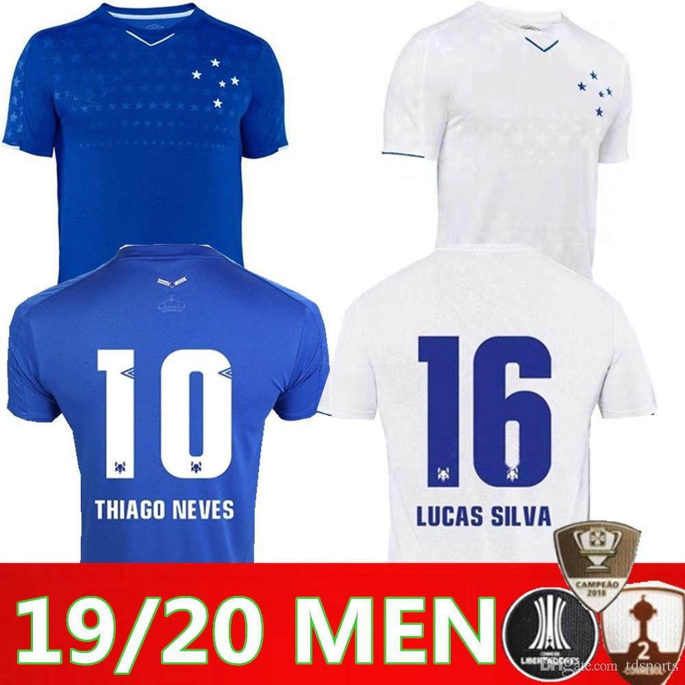 845cacdefd5 2019 CRUZEIRO Soccer Jersey 19 20 Brazil DE ARRASCAETA FRED ROBINHO THIAGO  NEVES Football Shirt Cruzeiro Home Brasil Club Camisas CRUZEIRO Soccer  Jersey ...
