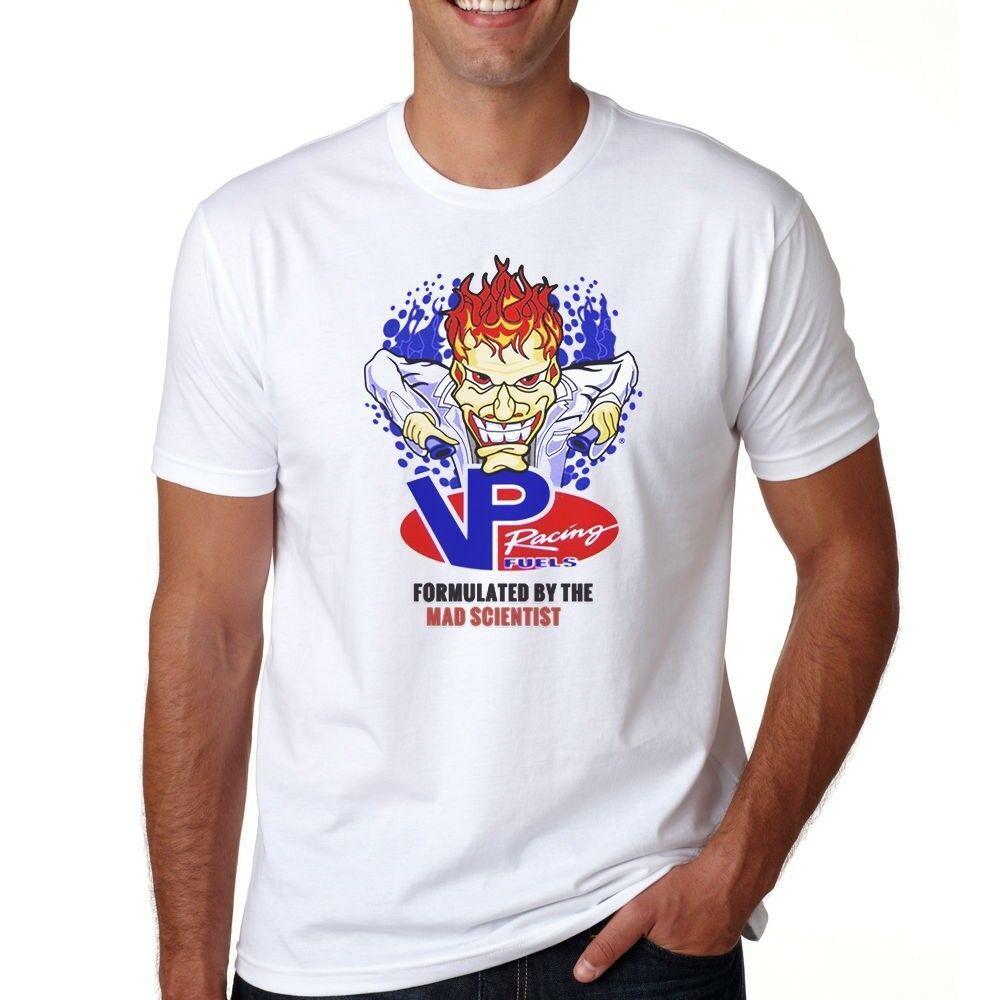 VP Racing Fuel Nascar T-Shirt S M L XL 2-3XL Formulated By The Mad  Scientist tee Men Women Unisex Fashion tshirt Free Shipping black