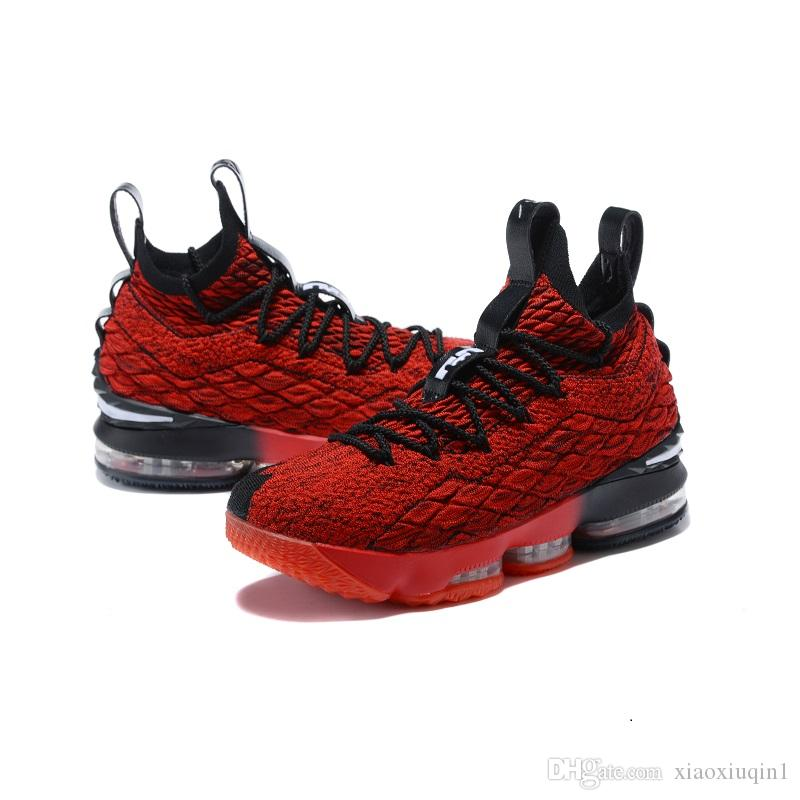 cade13c4b516 2019 Mens What The Lebron 15 XV Basketball Shoes For Sale Flowers MVP  Christmas BHM Oreo Youth Kids Generation Boots With Size 7 12 From  Xiaoxiuqin1