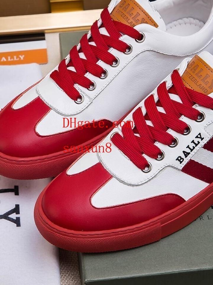 8b1d41af 2019 Luxe Off High Quality White Popular Red Striped Soles Toe Caps  Showcasing Noble Men's Casual Shoes Shoes Casual Shoes Men's Casual Shoes  Online with ...