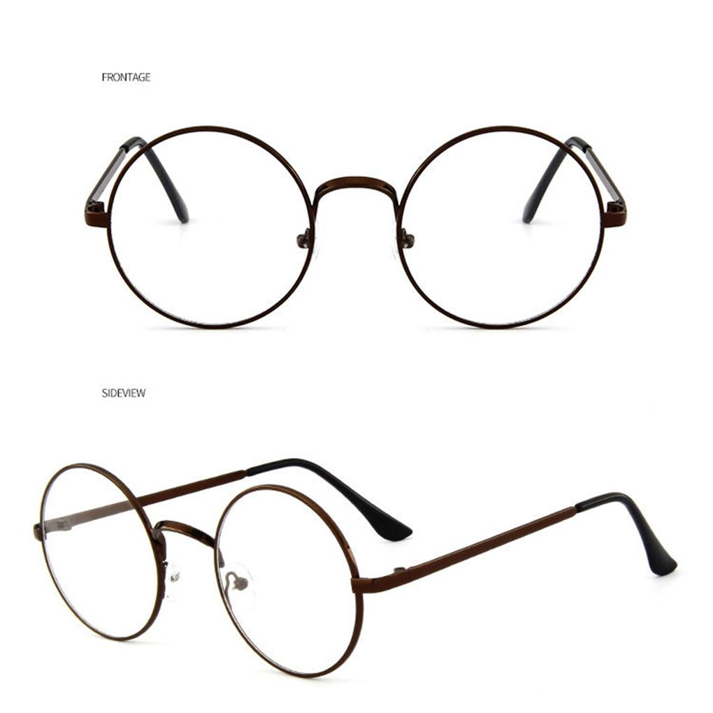 05734875e5 2019 Fashion Korean Vintage Eyeglasses Round Metal Frame Spectacles Clear  Lens Eye Glasses Accessory Unisex From Naughtie
