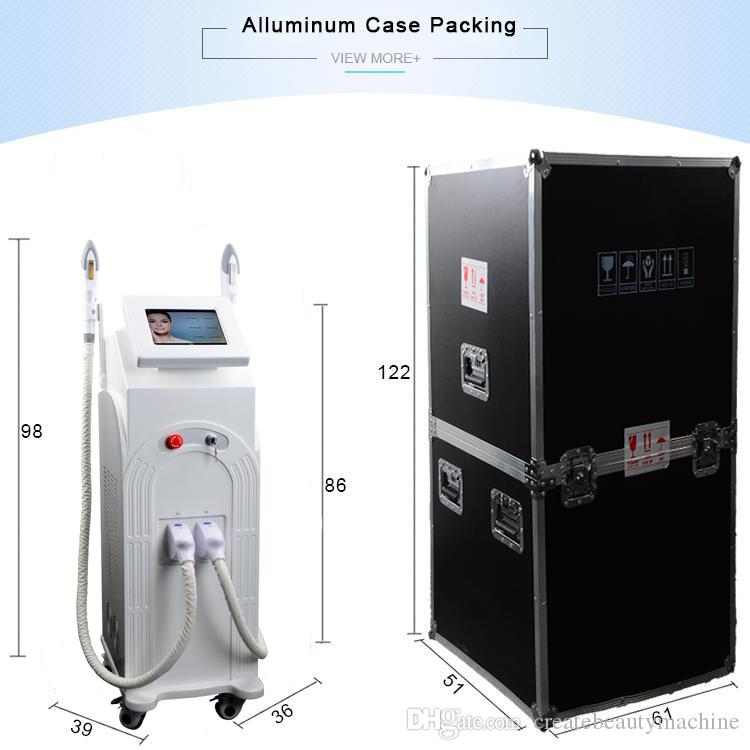 300,000 shots IPL laser hair removal machines facial hair remover skin laser machine price used hair salon equipment