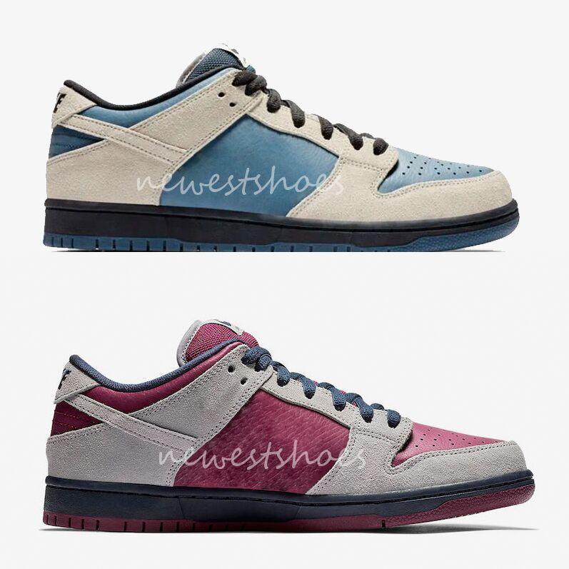 reputable site 391c0 05b4d Compre SB Dunk Low Pro Tormenta Eléctrica Light Cream Azul Negro BQ6817 200  Hombres Mujeres Zapatos Atmosphere Gris Negro Granate BQ6817 001 Zapatillas  ...