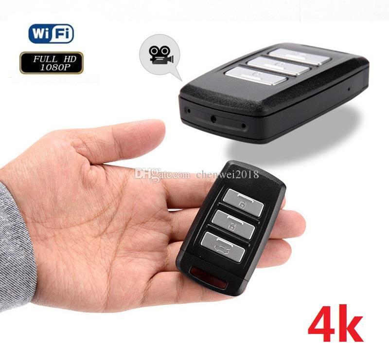 Hd Llavero 64 4k Activado Llave Coche Full Wifi Mini Grabadora Video Con De Grabación Movimiento H2 Cámara Del Dvr Ip 1080p WQedrxBCo