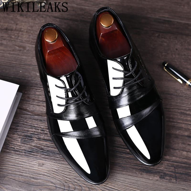 6592eea5ef Großhandel Italienische Luxus Designer Schuhe Herren Kleid Schuhe Leder  Büro Elegante Männer Oxford Calzado Hombre Sapato Social Masculino Von  Liucpik, ...