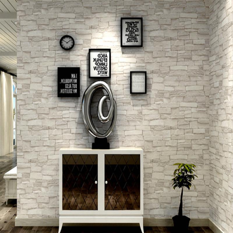 vintage stone brick wallpaper for walls roll 3d pvc waterproof rh dhgate com
