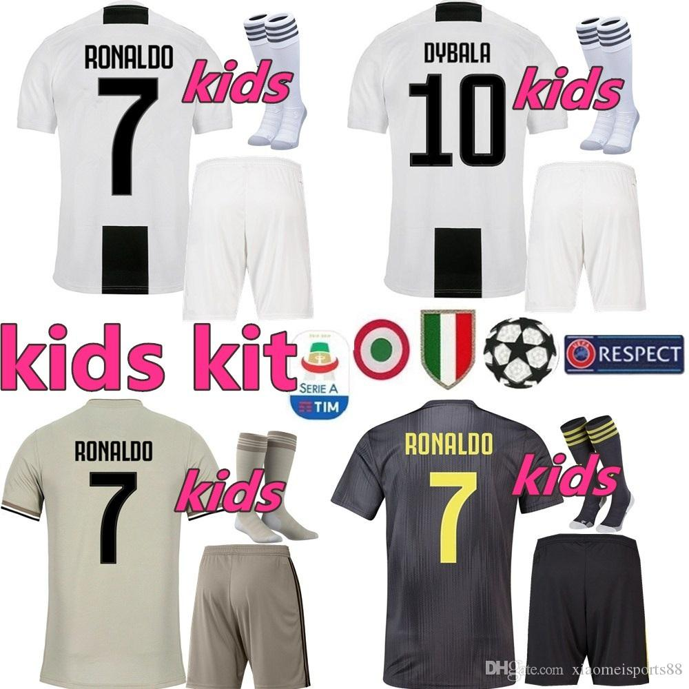half off 0fcb4 b4018 juventus 21 dybala away kid soccer club jersey