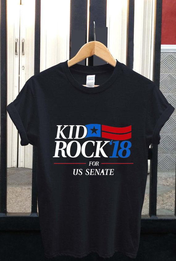 cd86b4f33 NEW KID ROCK TOUR 2017 2018 FOR SENATE T Shirt USA SIZE : S 3XLFunny Unisex  Casual Top Teet Shirts Tee Shirts For Sale From Dragontee, $12.96|  DHgate.Com