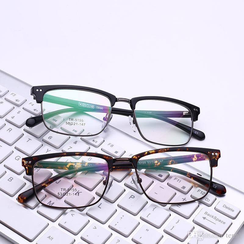 Compre Liga Óculos De Armação Homens Ultraleve Quadrado Miopia Prescrição  Óculos De Metal Masculino Moldura Óptica Completa Óculos Completo Aro C5155  De ... 44f70bda8b