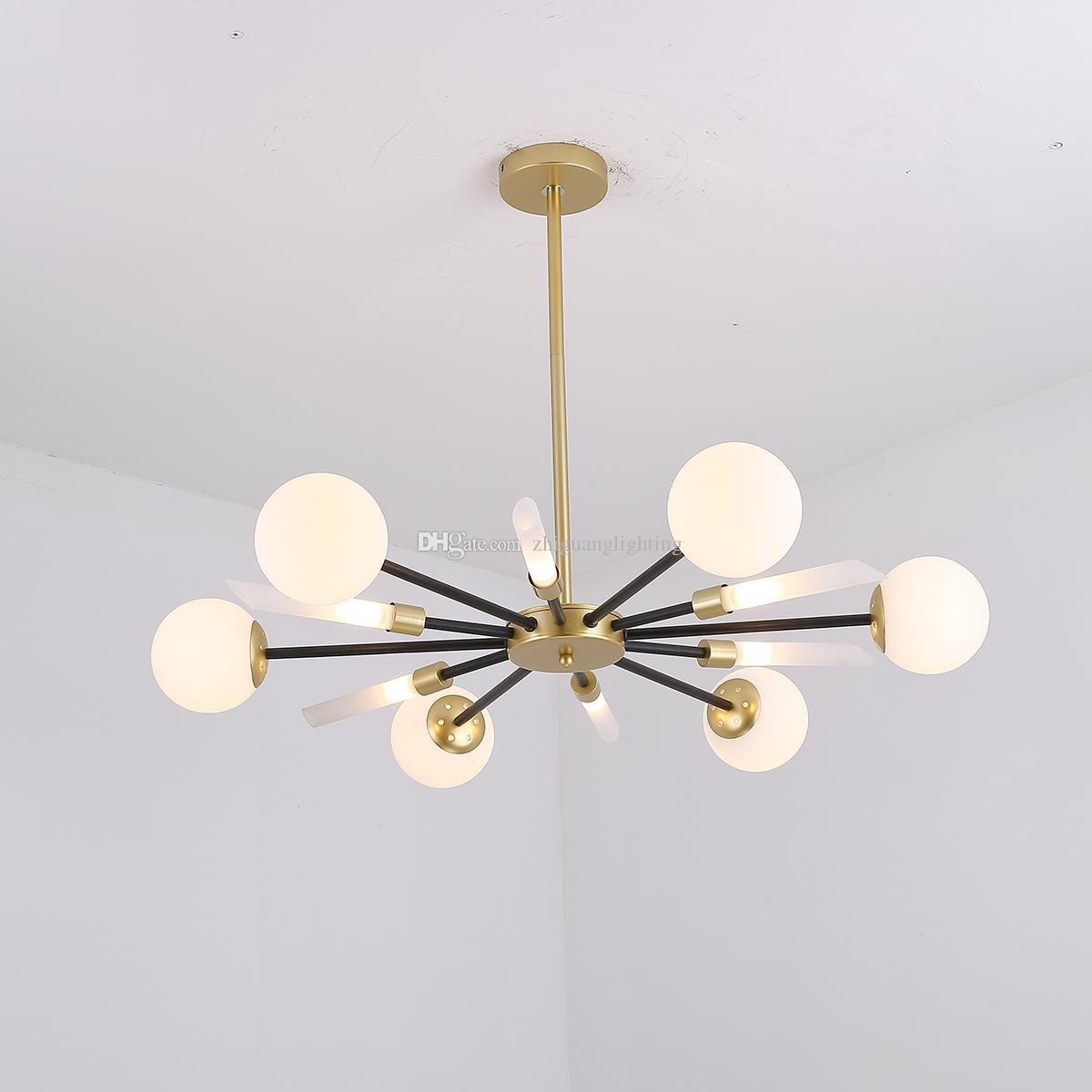 Pendant Lights American Style Gold Iron Pendant Light Fixture For Dining Room Kitchen Island Living Room Pendant Lamp Nordic Hanging Lamp A Great Variety Of Models