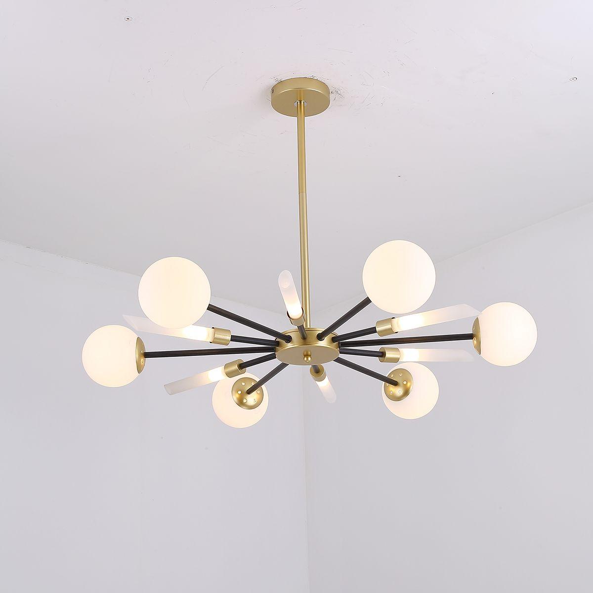 Gold Kronleuchter Wohnzimmer Lampe kreative Restaurant Licht Licht Luxus  Schlafzimmer Lampe Design Lampen moderne Kronleuchter China G9