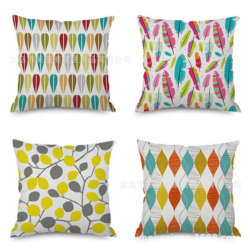 concise flax embrace pillow case fashion flowers and plants cushion rh dhgate com
