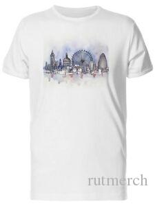 Lovely Watercolor London City Men 039 s Tee Image by Hip hop