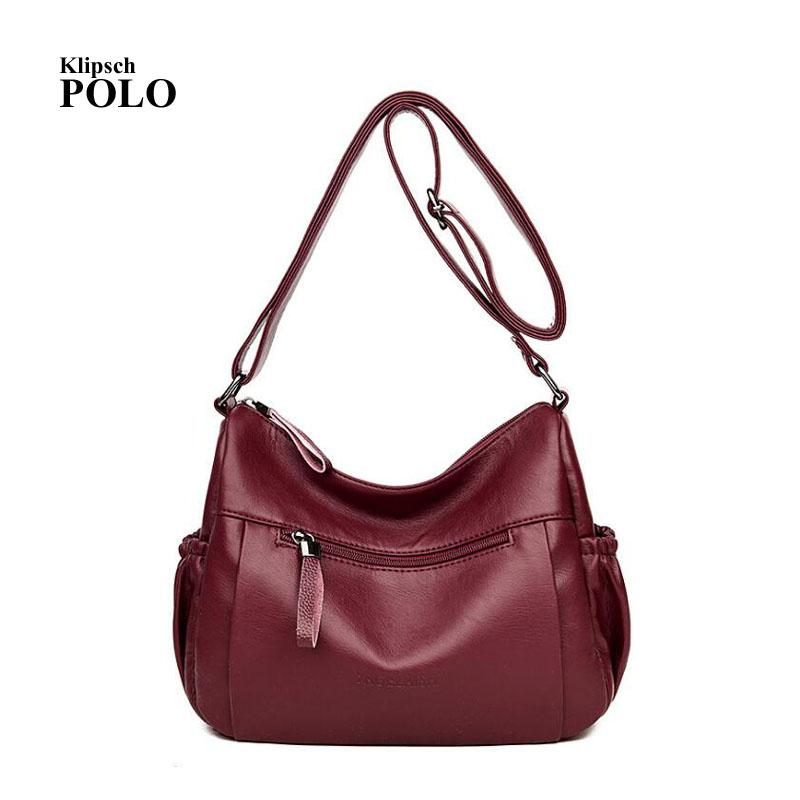 3e4d1017de11c Shoulder Bag Bags For Women 2018 Crossbody Bolsa Feminina Sac A Main Bolsa  Bolso Mujer Bolsas Borse Da Donna Tote Messenger Hobo Hobo Purses Leather  Bags ...