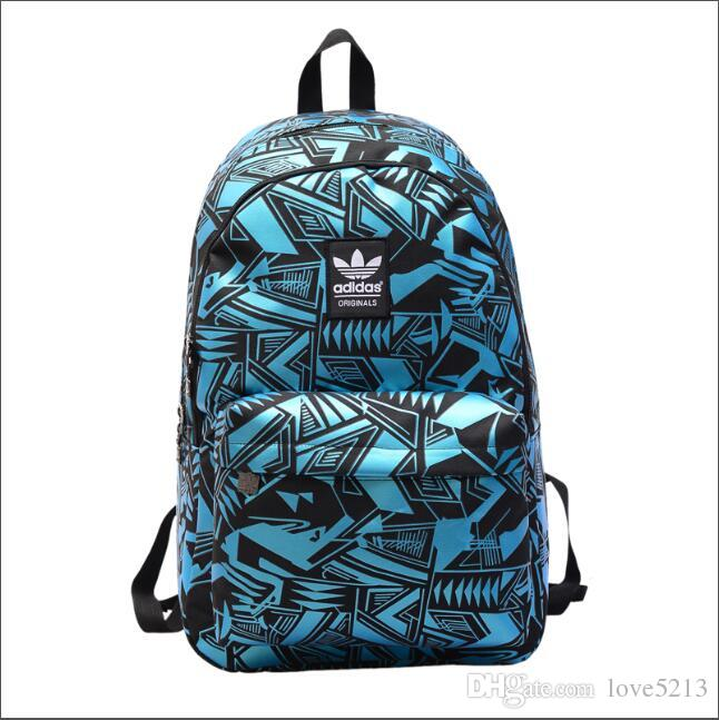 36b5f153e6 Fashion Handbag Sports Backpack Student Bag Luxury ADIDAS Casual Outdoor  Backpack Men Wallets Sports Backpack Cross Body One Strap Backpacks Trendy  ...