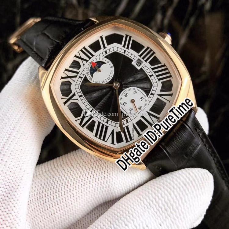 new 3 styles drive de rose gold black dial white subdial automatic rh dhgate com