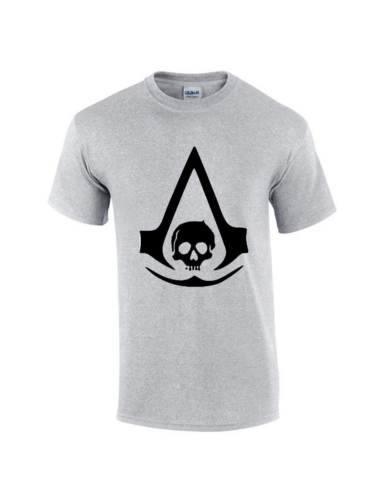 New 2017 Inspired Assassin Creed Men T Shirt Reasonable Wholesale