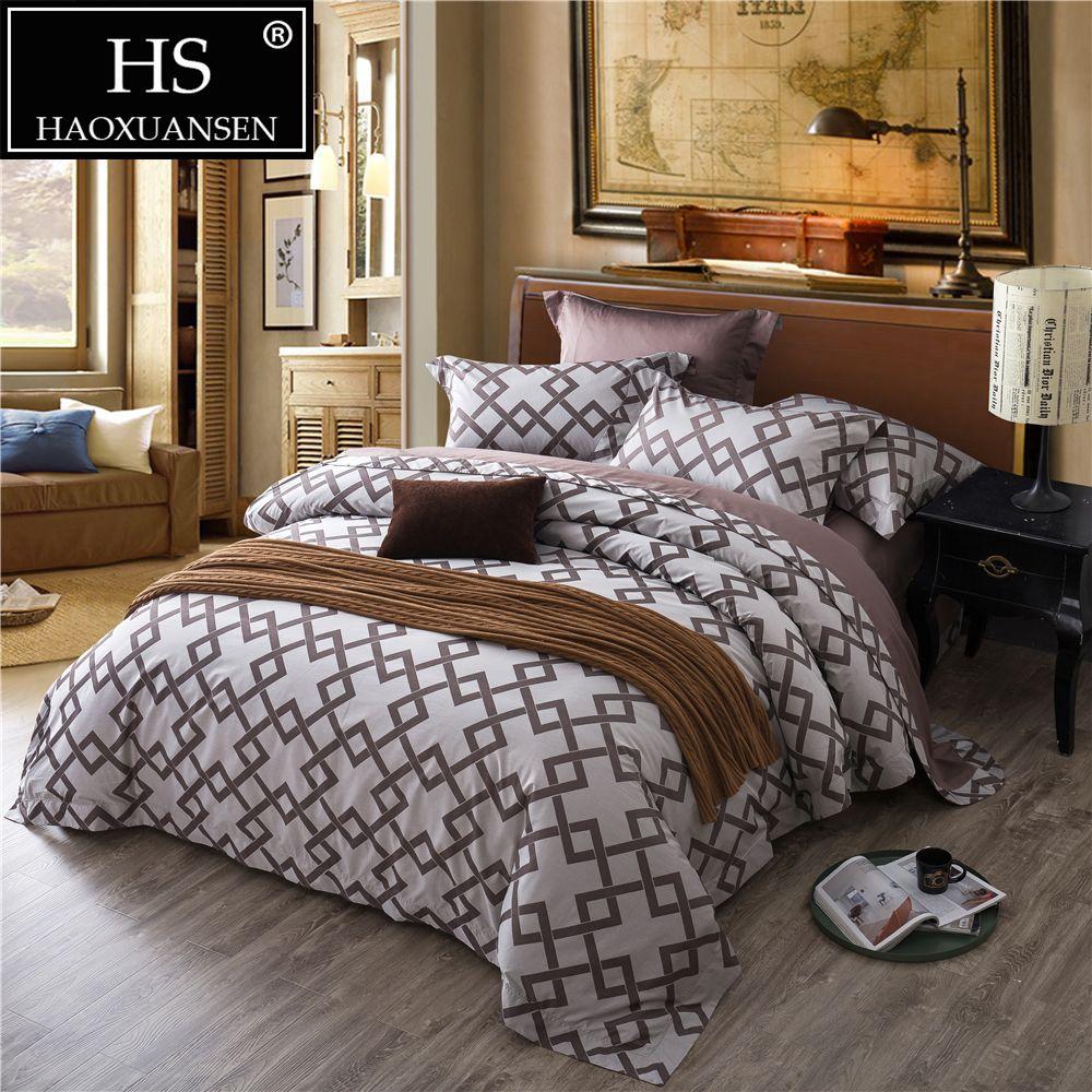 jacquard square plaid design grey bedding egyptian cotton bed sheets rh dhgate com