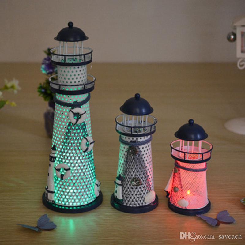 lighthouse home office decoration ornament mediterranean sea iron rh dhgate com