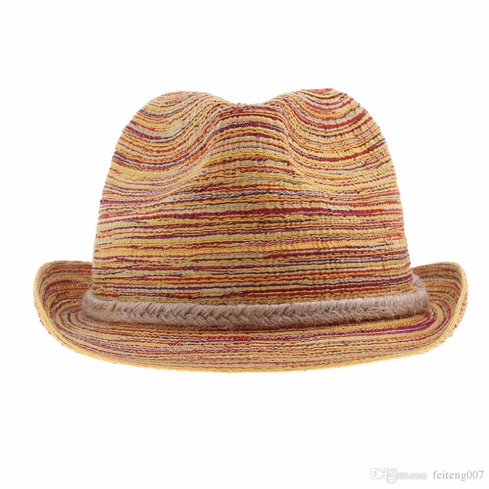 Compre LNPBD Estilo De Verano Mujer Damas Playa Plegable Sombrero De  Provenza Floppy Elegante Bohemia Sun Sombrero De Paja Cap Tops 2015 Nueva  Moda   47392 ... 8862bfc8674