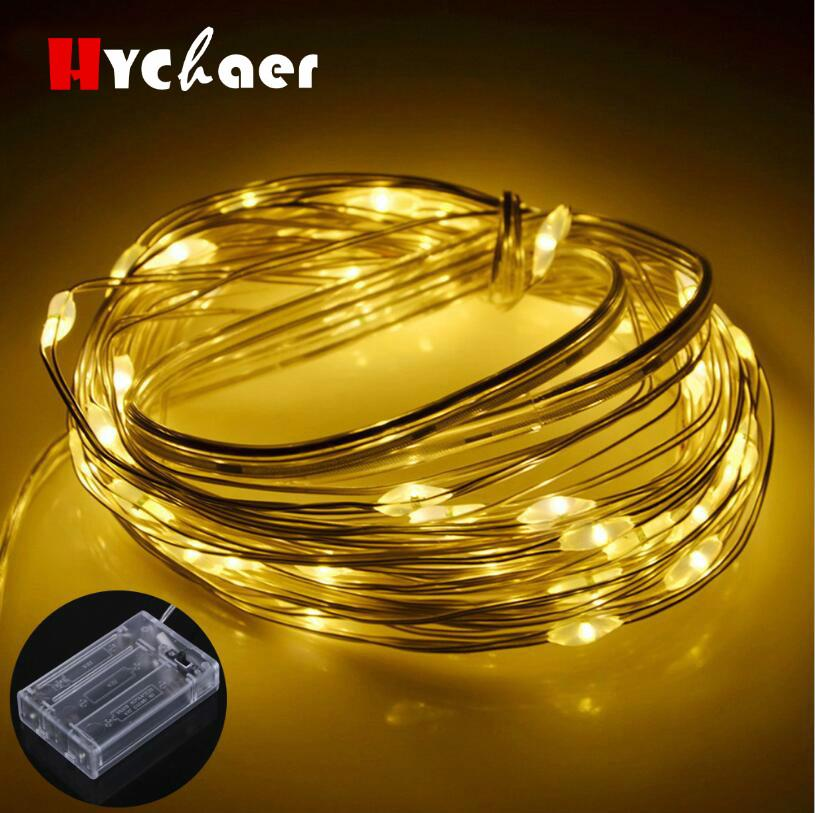 2m 5m copper wire led string lights holiday lighting fairy garland rh dhgate com