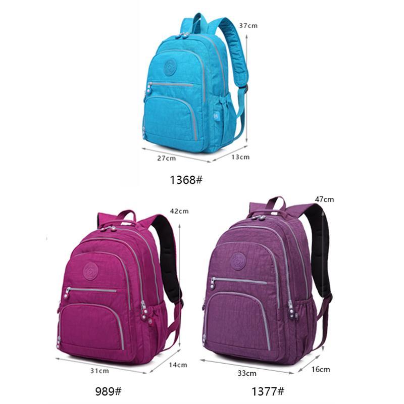 TEGAOTE Backpacks Women School Backpack For Teenage Girls Female Mochila  Feminina Mujer Laptop Bagpack Travel Bags Sac A Dos Rolling Backpacks  Backpacks For ... bb59fe0d8c
