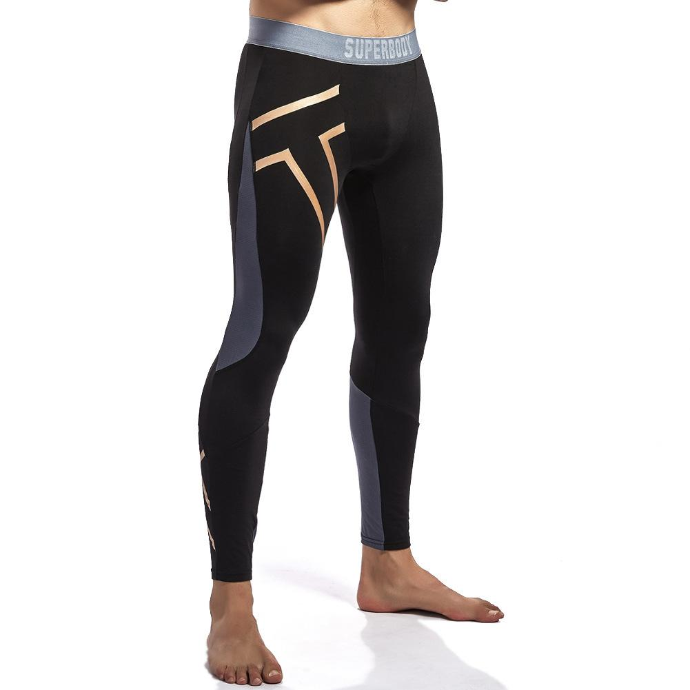D Leggings Patchwork Taille Reflective Pantalons Pour Compression Collants Hommes Yehan Entraînement Nylon Basse Running Stretchy Pantalon 5RL3A4jq