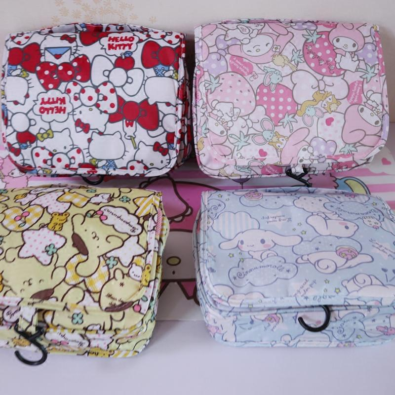6fbab4db13 2019 Kawaii Travel Handbag Melody Kitty Cinnamoroll Pudding Cosmetic Bag  For Makeup Portable Organizer Toiletry Bag Christmas Gifts From  Universe222