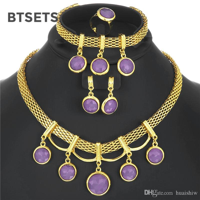 BTSETS Jewelry Sets Bridal Fashion Nigerian Wedding African Beads Jewelry  Set For Women Choker Costume Jewellery Set For Brides UK 2019 From  Huaishiw 90887093a60b