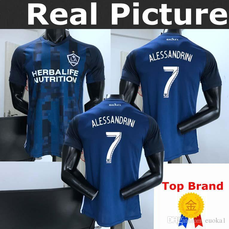 2019 LA Galaxy 2019 2020 IBRAHIMOVIC 19 20 Away Soccer Jersey TOP QUALITY  GERRARD Los Angeles Galaxy GIOVANI BECKHAM J.DOS SANTOS Football Shirts  From ... 22cef7c5f