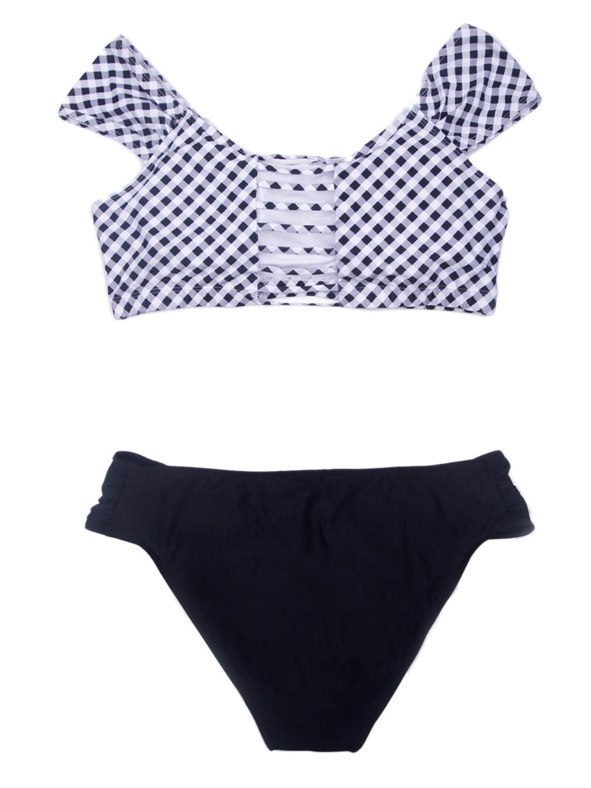 Women Extra Size Sexy Swimsuit Bikini Swimwear Two Piece Swimming