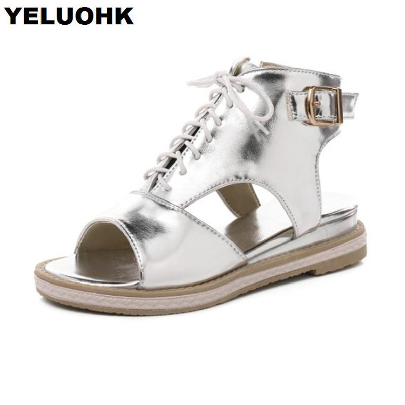 Sommer Mode Flache 2018 Frauen Schuhe Neue Großhandel Sandalen xv0qwXd