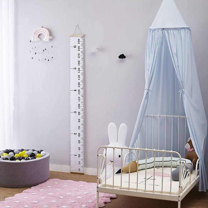 Kinder Prinzessin Baldachin Bett Vorhang Baldachin Kinderzimmer Dekoration  Baby Runde Moskitonetz Zelt Vorhänge Kinderbett Netting
