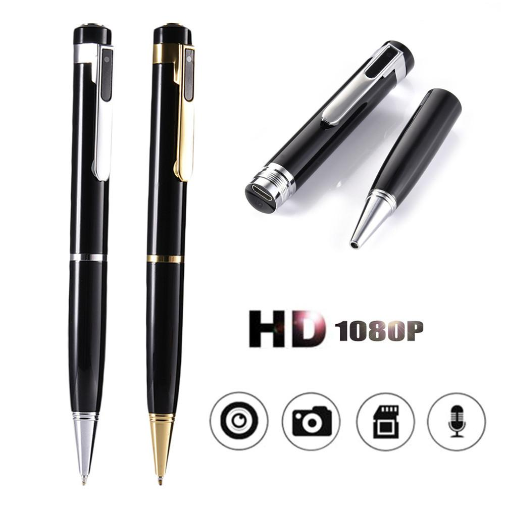 32GB HD Pen Camera Nuevo 1080P Mini Vigilancia DVs Cam Cámaras de video portátiles Oficina de seguridad Niñera Cam Pocket Body Video Recorder