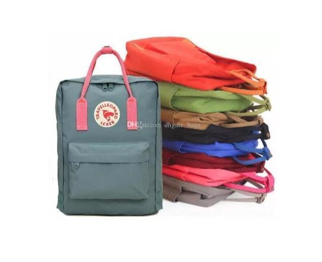 couple backpack 7L 16L 20L classic mini rucksacks unisex canvas students shoulder Student bags handbags Schoolbag Girl boy drop shipping