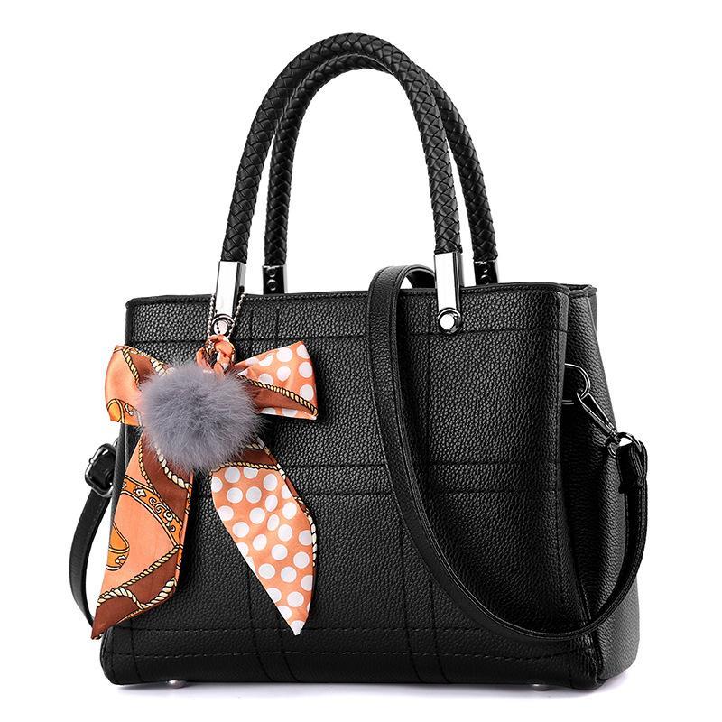 Fashion Ol Woman Handbag Top Handle Shoulder Bags Pu Leather Evening Frame  Spring New Handbags Designer Famous Brand Sac 377 Cheap Bags Cute Purses  From ... b2994b4d7b2ab