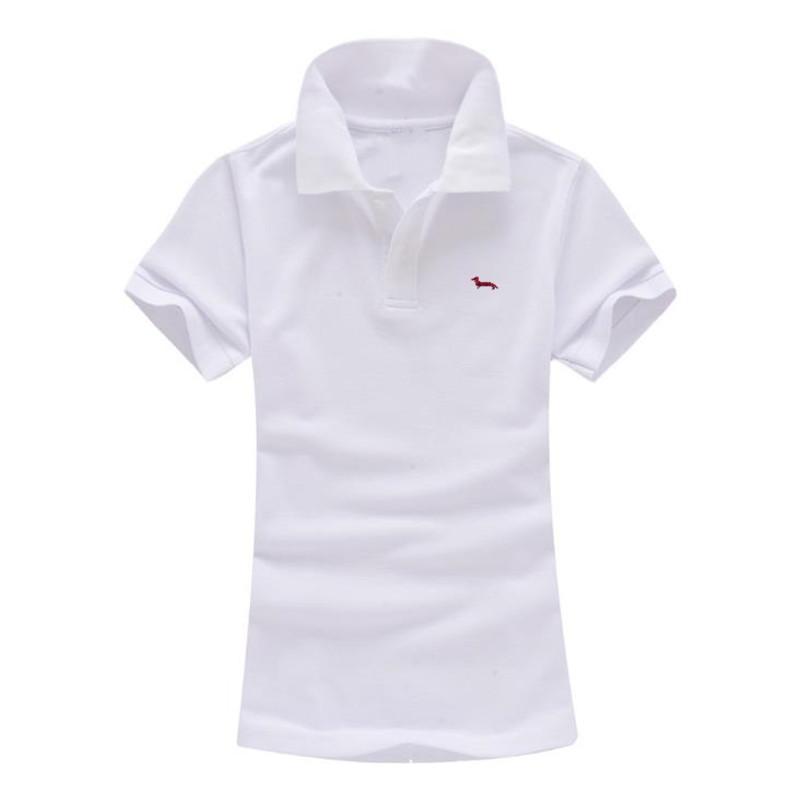 buy online 52005 4ff5a Camicia per donna casual Harmont in cotone 100% traspirante nuova estate  traspirante ricamo slim fit camicie blaine slim fit bianco nero