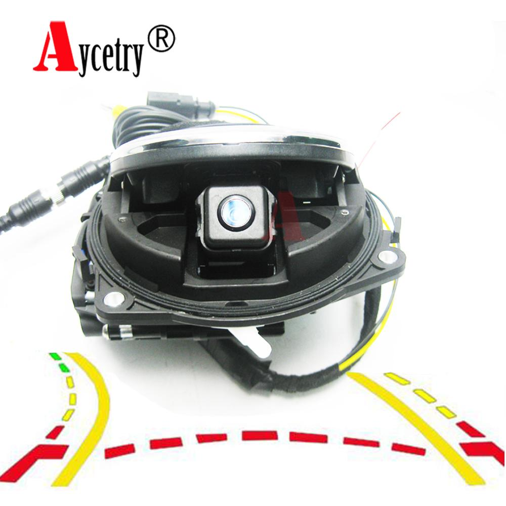 Aycetry! For VW Badge Logo Smart Flip car Rear View Reversing Camera Golf 5/6/7 MK6/MK7 Passat cc B6/B7/B8 Magotan Beetle