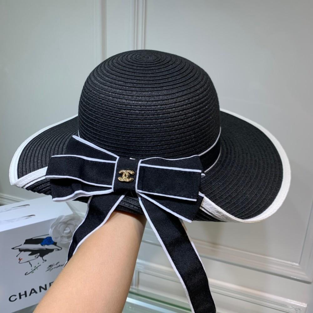 0538d7670 Women's classic fisherman hat early autumn new sun straw hat, elegant big  hat, bow irregular hat, ladies and children's travel essential
