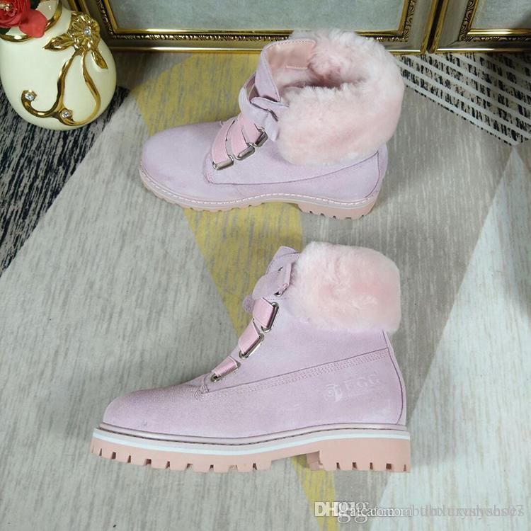 ec0914de4917 Snow Boots DK331 Warm Women Shoes Fur Plush Insole Fashion High Quality Ankle  Boots Shoes with Origin Box Luxury Plush Booties Luxury Women Snow Boots  Women ...