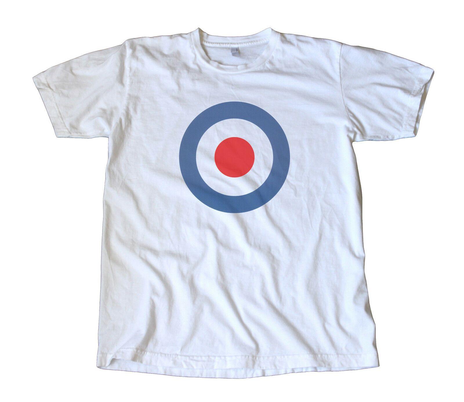 08d71b5567de51 Großhandel Vintage Classic RAF Aufkleber T Shirt The Who, Mod, Vespa,  Lambretta, ScooterFunny Kostenloser Versand Unisex Casual Tshirt Top Von  Pepitaprint, ...