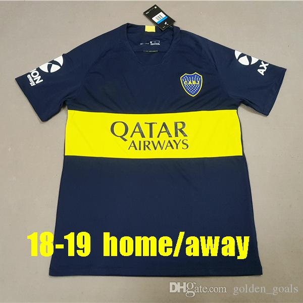 2019 Thailand 2018 2019 Boca Juniors Soccer Jerseys 18 19 GAGO CARLITOS HOME  AWAY Football Jersey Shirts Boca Junior 18 19 Camisetas De Futbol From ... c16900016