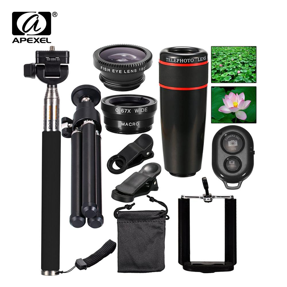 757c0e04693f6d 2019 Wholesale 5in1 6in1 7in1 10in1 Phone Camera Lens Kit Fisheye Wide  Angle Macro Telescope For Iphone Xiaomi Android Phone From Shuokai003, ...