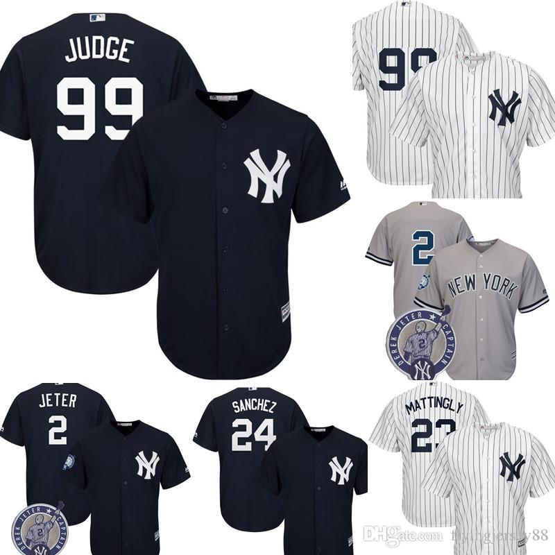 2019 New York Yankees Aaron Judge Jersey Men S Majestic Cool Base Player  Replica Jersey Embroidery Baseball Jerseys M XXXL From Flyingjersey88 047fee2f4d7