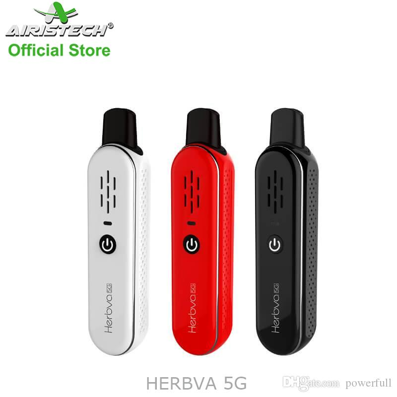 Airistech Herbva 5g Portable dry herb vaporizer Ceramic Chamber 1100mah Vaporizer for Dry Herb with Mini Size Cheap Price